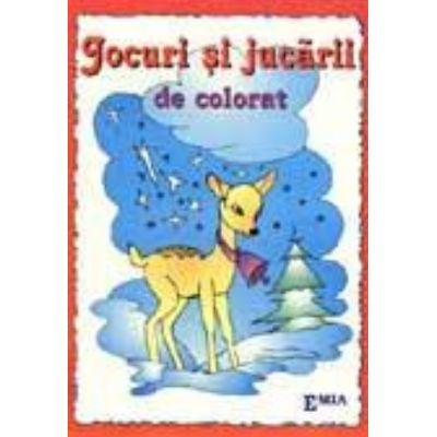 Jocuri si jucarii de colorat - Paulina Popa