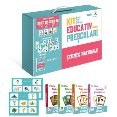Kit educativ pentru prescolari. Stiinte naturale