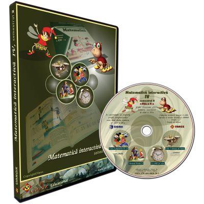 Matematica interactiva IV, semestrul 2. CD