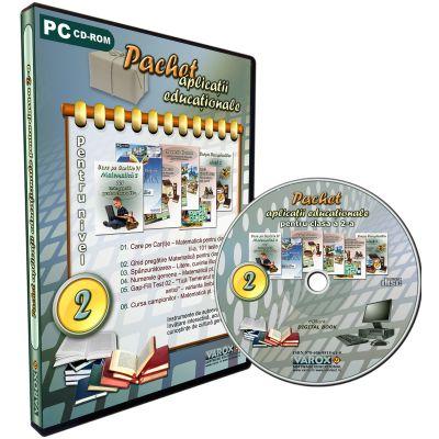 Pachet aplicatii educationale pentru clasa a II-a. CD