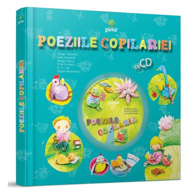 Poeziile copilariei - Carte cu CD