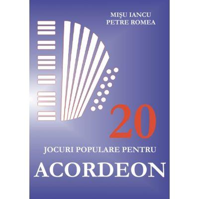 20 de jocuri populare pentru acordeon - Misu Iancu