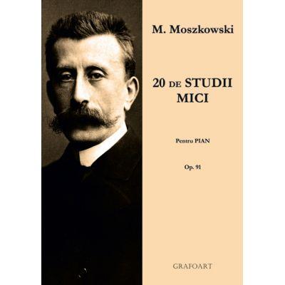 20 Mici studii. Pentru pian. Opus 91 - Moritz Moszkowski