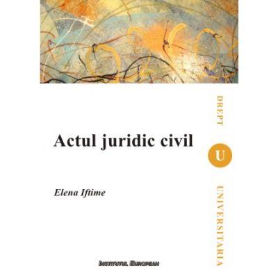 Actul juridic civil pdf