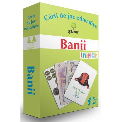 Banii. Carti de joc educative