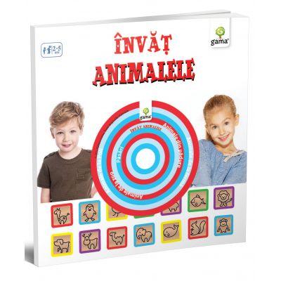 Carti educative cu CD. Invat animalele