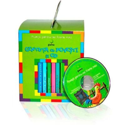Gentuta cu povesti si CD - verde