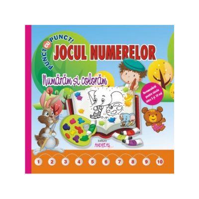 Jocul numerelor - Numaram si coloram