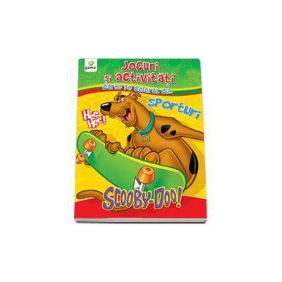 Jocuri si activitati cu ScoobyDoo! Carte de colorat cu... Sporturi