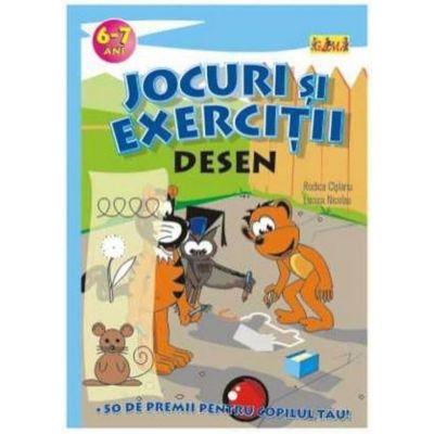 Jocuri si exercitii - Desen 6 - 7 ani - Rodica Cislariu, Lucica Nicolau