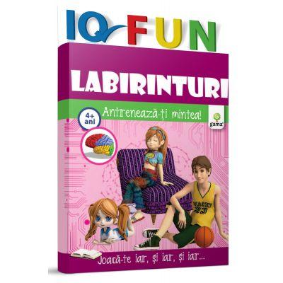 Labirinturi. Antreneaza-ti mintea! Colectia IQ Fun