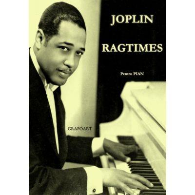 Ragtimes. Pentru pian - Joplin