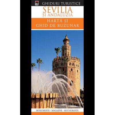 Sevilla. Ghid de buzunar + harta plianta