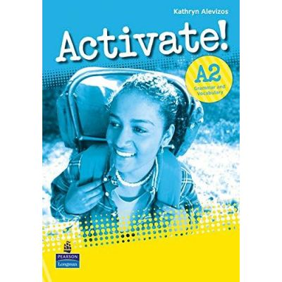 Activate! A2 Grammar and Vocabulary Book - Kathryn Alevizos