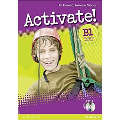 Activate! B1 Workbook with Key, CD-Rom Pack Version 2 Paperback - Jill Florent