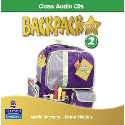 Backpack Gold 2 Class Audio CD - Mario Herrera