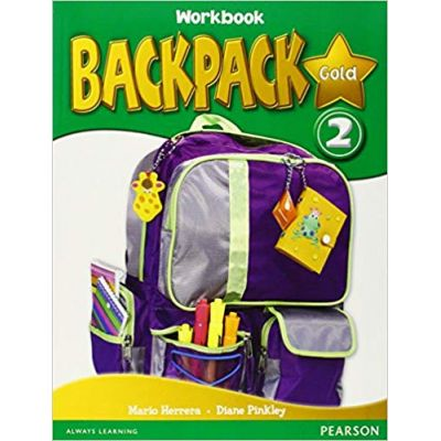 Backpack Gold 2 Workbook and CD pack - Herrera Mario