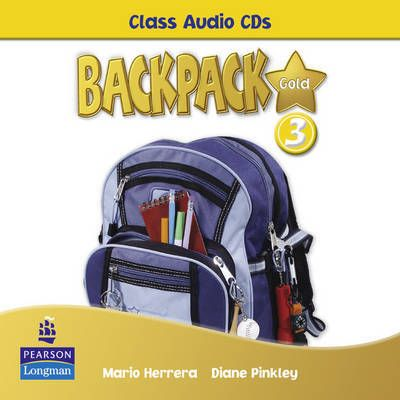Backpack Gold 3 Class Audio CD - Diane Pinkley