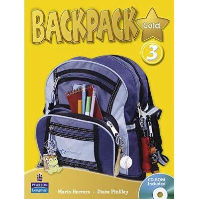 Backpack Gold 3 Student Book and CD-ROM Pack - Mario Herrera