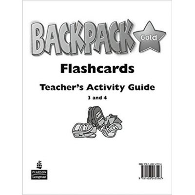 Backpack Gold 3 to 4 Flashcards New Edition - Diane Pinkley