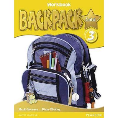 Backpack Gold 3 Workbook - Mario Herrera