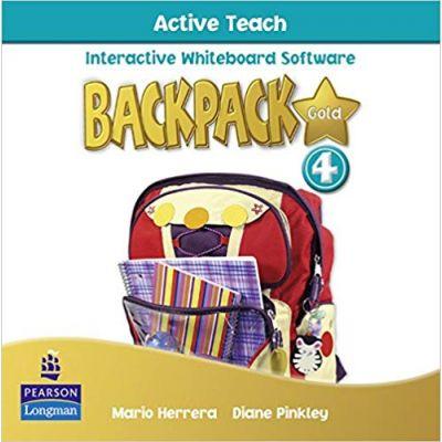 Backpack Gold 4 Active Teach New Edition - Mario Herrera