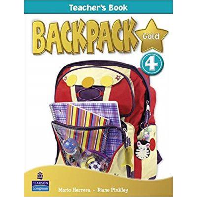 Backpack Gold 4 Teacher's Book New Edition - Mario Herrera