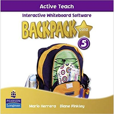 Backpack Gold 5 Active Teach New Edition - Mario Herrera