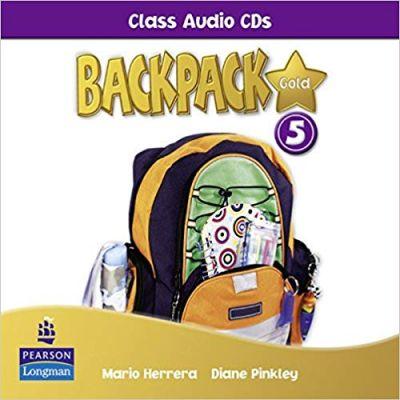 Backpack Gold 5 Class Audio CDs - Mario Herrera