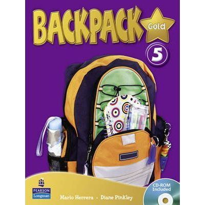 Backpack Gold 5 Student's Book with CD - Diane Pinkley