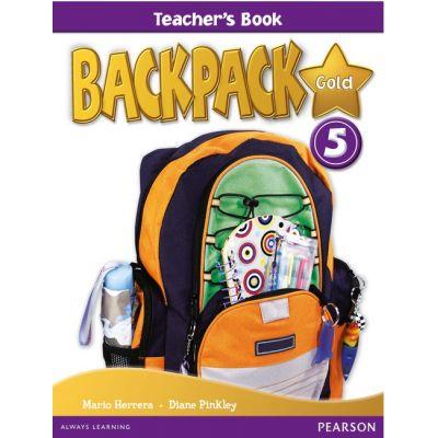 Backpack Gold 5 Teacher's Book New Edition - Mario Herrera