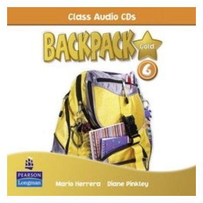 Backpack Gold 6 Class Audio CD New Edition - Mario Herrera