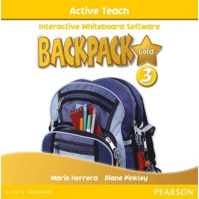 Backpack Gold Level 3 Active Teach CD ROM - Diane Pinkley