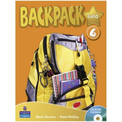 Backpack Gold Level 6 Students' Book with CD-ROM - Diane Pinkley