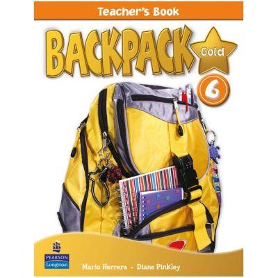 Backpack Gold Level 6 Teacher's Book - Diane Pinkley