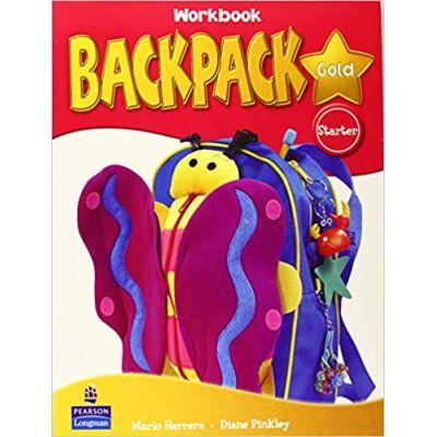 Backpack Gold Starter Workbook and Audio - Diane Pinkley