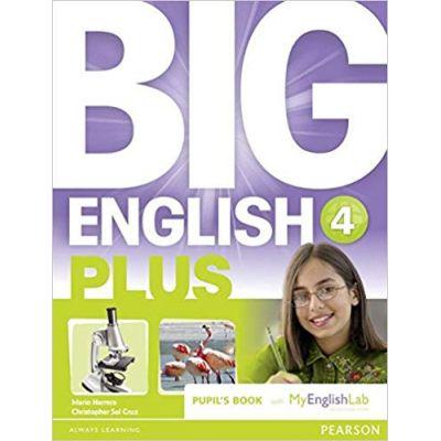 Big English Plus 4 Pupils' Book with MyEnglishLab Access Code Pack - Mario Herrera