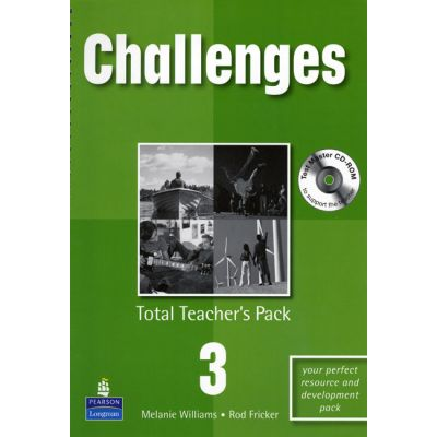 Challenges Total Teachers Pack 3 and Test Master CD-Rom 3 Pack - Patricia Mugglestone