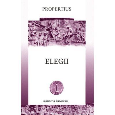 Elegii - Propertius