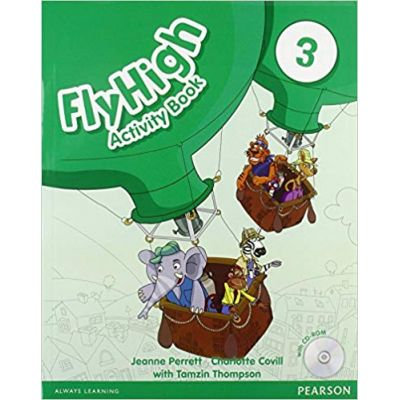 Fly High Level 3 Activity Book and CD ROM Pack Paperback - Jeanne Perrett