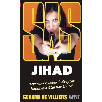 Jihad - SAS 124 (editie pe hartie de ziar) - Gerard de Villiers