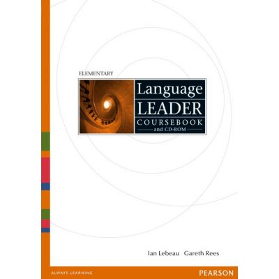 Language Leader Elementary Coursebook and CD-ROM - Gareth Rees