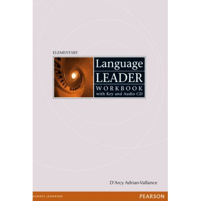 Language Leader Elementary Workbook with Key and CD - D'arcy Adrian-Vallance