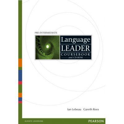 Language Leader Pre-intermediate Coursebook and CD-ROM - Ian Lebeau