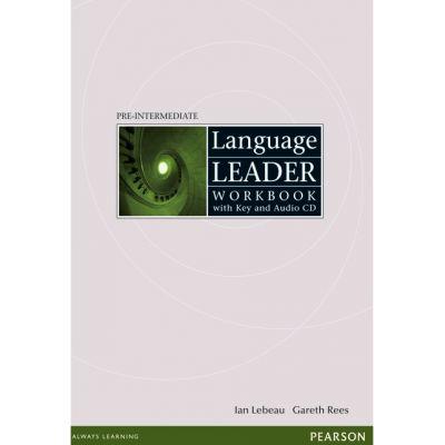 Language Leader Pre-intermediate Workbook with Audio CD and Key - Ian Lebeau