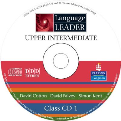 Language Leader Upper Intermediate Class Audio CD - David Cotton