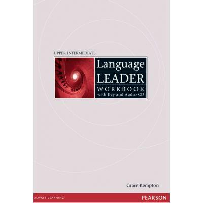 Language Leader Upper Intermediate Workbook with Audio CD and Key - Grant Kempton