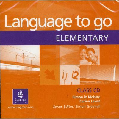 Language to go Elementary Class Audio CD - Simon Le Maistre
