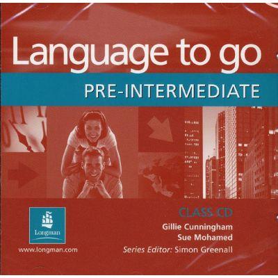 Language to go Pre-intermediate Class CD - Gillie Cunningham