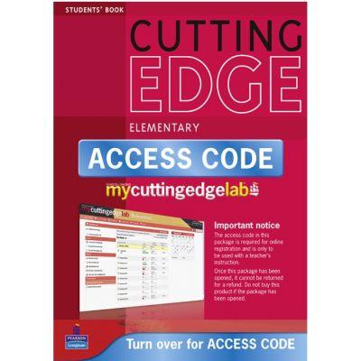 New Cutting Edge Elementary MyCuttingEdgeLab Coursebook with CD-ROM and Access Code - Sarah Cunningham